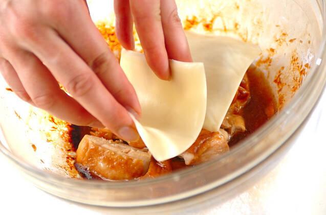 チキンのレンジ照り焼きランチの作り方の手順6