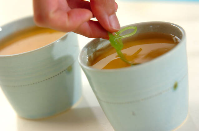 ひんやり茶碗蒸しの作り方の手順4