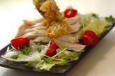 たっぷりネギダレゆで鶏の作り方7