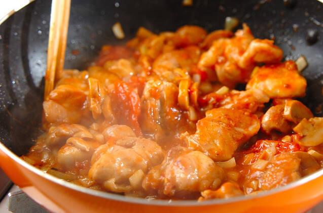 チキンのトマト煮の作り方の手順6