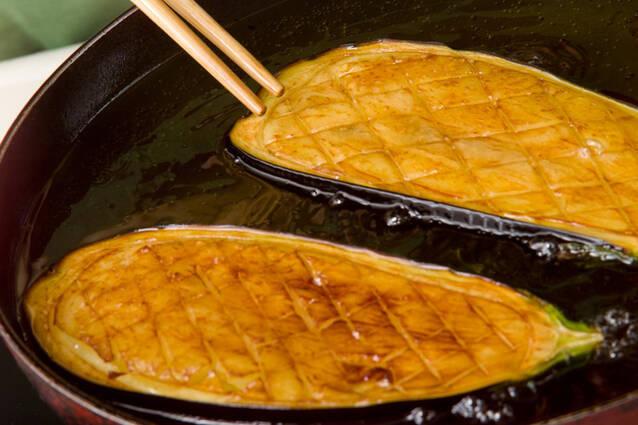 米ナスの肉みそ田楽の作り方の手順5