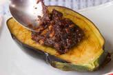 米ナスの肉みそ田楽の作り方6