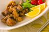 鶏レバーカレー風味揚げの作り方の手順