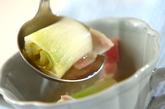 下仁田ネギのスープの作り方2