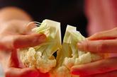 カリフラワーのアンチョビガーリック炒めの作り方1
