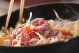 焼き肉ビーフンの作り方2