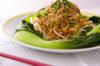 野菜ピリ辛ひき肉ソースの作り方の手順