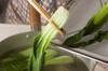 野菜ピリ辛ひき肉ソースの作り方の手順2
