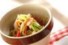 カニカマのショウガ酢和えの作り方の手順
