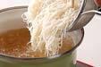 鶏の煮込み温麺の作り方の手順8