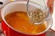 ジュンサイのみそ汁の作り方2