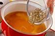 ジュンサイのみそ汁の作り方5