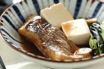 鯛と豆腐の煮付け