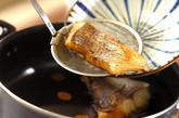 鯛と豆腐の煮付けの作り方3