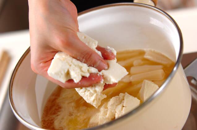ホワイトアスパラスープの作り方の手順4