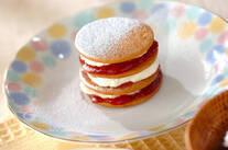 ジャムクッキーケーキ