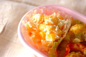 柿のクリームチーズ和え