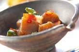 コンニャクのピリ辛煮