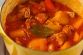 鶏ジャガのトマト煮の作り方3
