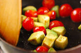 焼きアボカドのマヨ和えの作り方2