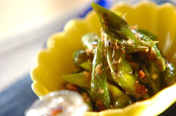 長唐辛子とジャコの炒め煮