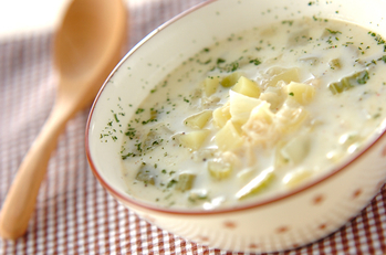 ベジミルクスープ