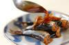 たっぷりショウガと梅のイワシ煮の作り方の手順4