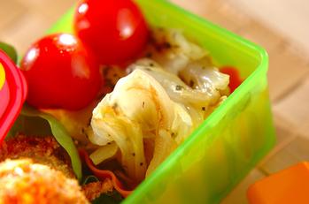 白菜の香り焼き
