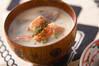 鮭とジャガイモの粕汁の作り方の手順