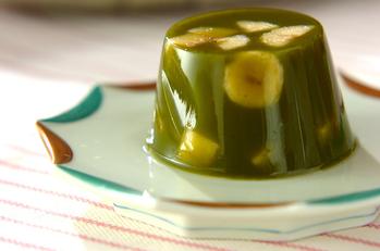 バナナ入り抹茶カン
