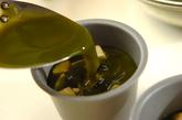 バナナ入り抹茶カンの作り方3
