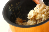 サンマの炊き込みご飯の作り方2