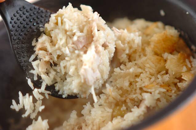 クミン入りココナッツチキンライスの作り方の手順7