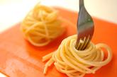 くるくるパスタとフレッシュトマトソースの作り方1