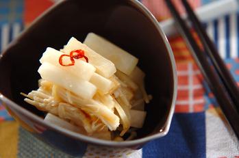 大根の甘酢炒め