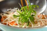 鮭のピリ辛丼の作り方3