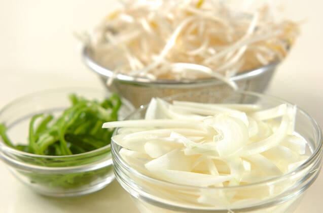 鮭のピリ辛丼の作り方の手順2