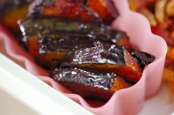 カボチャのバルサミコ酢風味焼き