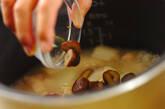 サムゲタン~鶏のスープ煮込み~の作り方4