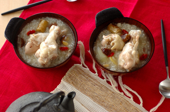 サムゲタン~鶏のスープ煮込み~