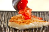 白身魚のフレッシュトマトソースの作り方2