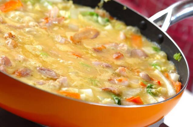 鶏肉のクリームコーン煮の作り方の手順6