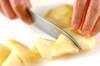 ラ・フランスのヨーグルトジュースの作り方の手順1