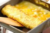 ホタテ入り卵焼きの作り方4