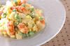 豆とエビのサラダの作り方の手順