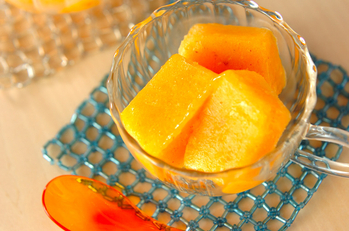 柿のキュービックアイス