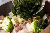 ワカメと牛肉の炒めものの作り方7