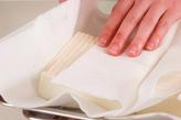 マーボー豆腐の下準備1