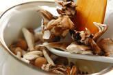 キノコたっぷり豆乳スープの作り方2