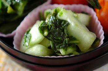 白菜のユズ風味サラダ